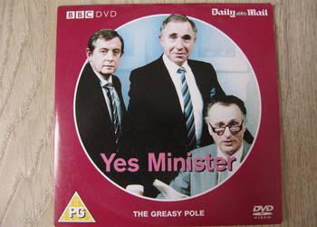 "Serial komediowy BBC na DVD ""Yes Minister"" stan bardzo dobry"