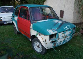 Fiat 126 el - karoseria przygotowana pod KJS