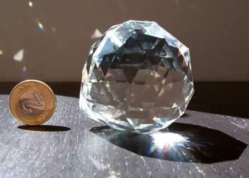 Kula kryształowa 5 cm, dekoracja okna i domu