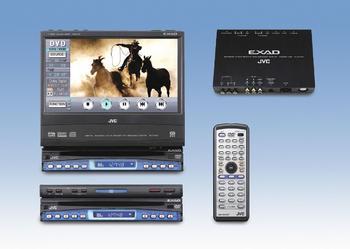JVC KD-AV 7001 Stacja Multimedialna DVD