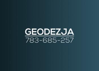 """Usługi geodezyjne """"Geo-Bart"""" Geodeta Geodezja"""