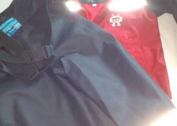 Spodnie i kurteczki przeciwdeszczowe gumowane dla dzieci