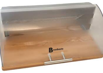 BRUNBESTE CHLEBAK pojemnik pieczywo AKRYL+STAL 3026 duży