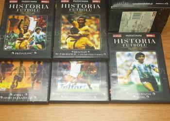 Historia futbolu zestaw 7 płyt DVD