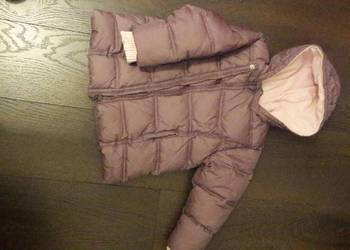 puchowa ciepła kurtka Next  110 cm