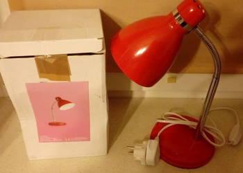 Lampka na biurko Nowa gwint E 14 czerwona