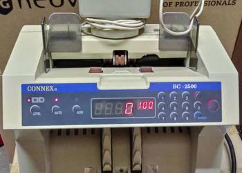 Liczarka banknotów Connex BC-2500 z wyświetlaczem zew.