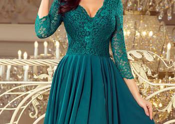 5f5d609e9419df JOKA NICOLLE sukienka zielona koronka S M L XL XXL Mykanów - Sprzedajemy.pl