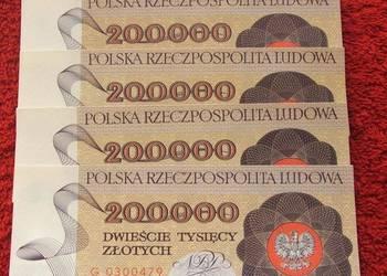 POLSKA PRL 200000 ZŁ WARSZAWA - Banknot UNC - 1 szt.