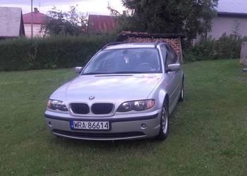 BMW Seria 3 320D 150PS Automat 2003 rok