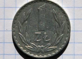 1 ZŁOTY 1977 ROK - POLSKA