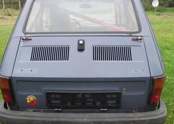 Fiat 126p klatka zał.J projekt rajdowy nieskończony