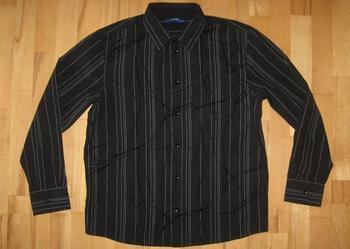Czarna koszula dla chłopca 13 14 lat