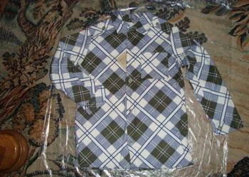 Koszulka flanelowa dla chłopca - nowa