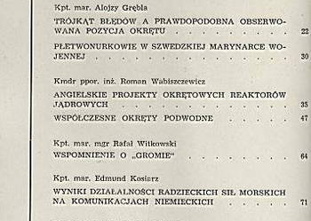 PRZEGLĄD MORSKI - 1960 - NR 5 - GDYNIA