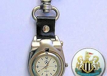Zegarek kieszonkowy- brelok  Newcastle na- prezent-pamiątka.