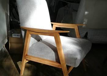 Piękny fotel Lisek po renowacji