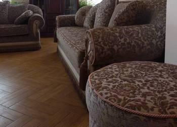 Komplet wypoczynkowy Greta sofa kanapa pufa