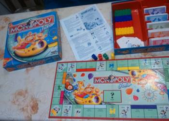 Gra Monopoly Junior w bdb. stanie