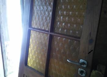 drzwi modrzewiowe (całe z drewna)