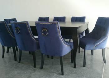 Pikowane krzesło z kołatką ćwiekami tapicerowane producent