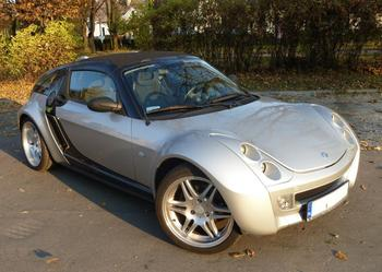 Smart Roadster Coupe Brabus Turbo