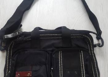 Czarna torba uniseks