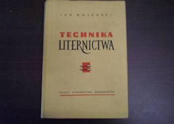 TECHNIKA LITERNICTWA – JAN WOJEŃSKI /FA
