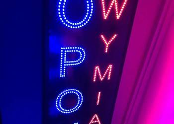 OPONY LED reklama 160cm zewnętrzna NOWA PRODUCENT