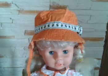 Śliczny pomarańczowy kapelusz gap baby rozm.45