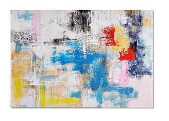 Tetuan, abstrakcja, nowoczesny obraz ręcznie malowany