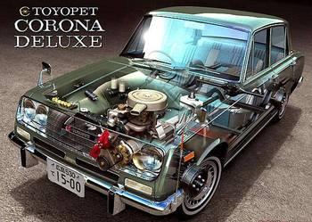 Toyota Corona RT43 Zabytkowy