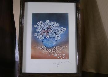Obrazek - wazon z kwiatami