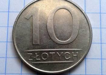 10 ZŁOTYCH 1987 ROK - POLSKA