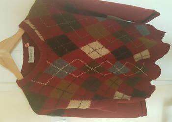 Sweter męski wełna klasyk z Irlandii rozmiar L