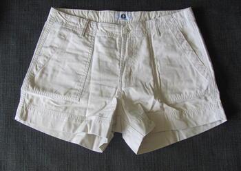 Kremowe spodenki szorty rozmiar L XL