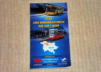 Plan Linii Komunikacyjnych KZK GOP i MZKP - 2010r.