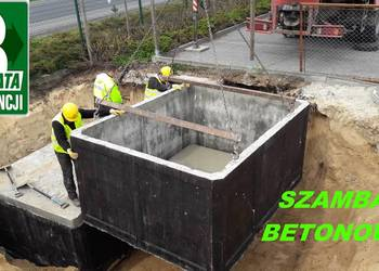 Producent SZAMBA Szambo 11m3 z Atestem zbiornik betonowy SUP