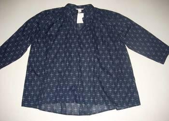 Koszula czarne w złote paski Reserved r 36 luźna nowa z