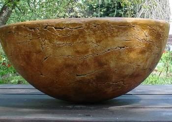 Ceramiczna donica ogrodowa śr. 50 cm. mrozoodporna