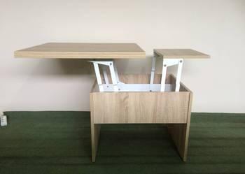 Funkcjonalny stolik rozkładany, ława zmieniająca się w stół