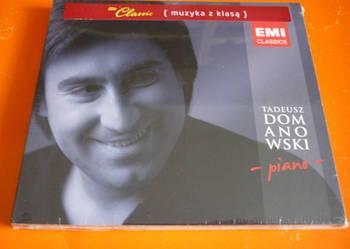 """Płyta CD Tadeusz Domanowski """"- piano -"""" (nowa w folii)"""