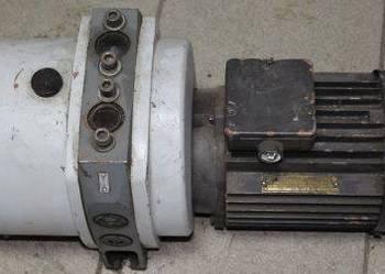 Pompa próżniowa typ AL-30W silnik 1415 obr/min, pompy
