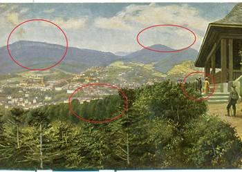 Baden Baden Postkarte