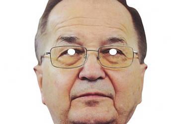 Maska papierowa ojciec dyrektor Tadeusz Rydzyk