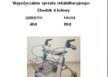 Wózek-balkonik Meyra Idea chodzik 4 kołowy