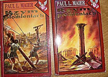Rzym w płomieniach - Paul L. Maier