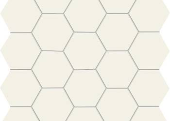 Mozaika All in white Hex