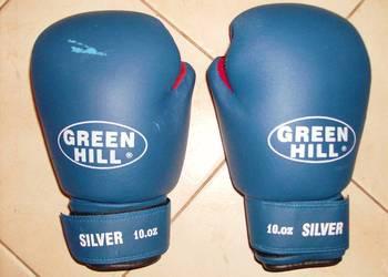 "Rękawice bokserskie ""GREEN HILL""  10 oz. Nowe."