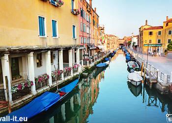 Fototapeta z koloroową Wenecją Fototapety Świdnica